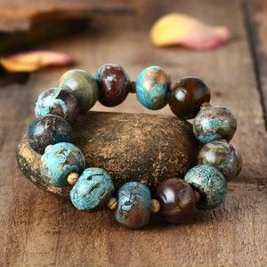 Beaded Bracelet Natural Stone Women Stretchy